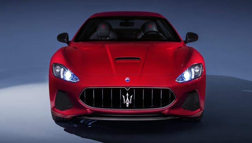 2018 Maserati GranCabrio debuts with minor updates Image #678045