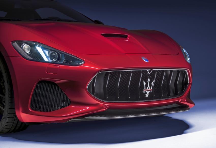2018 Maserati GranCabrio debuts with minor updates Image #678047