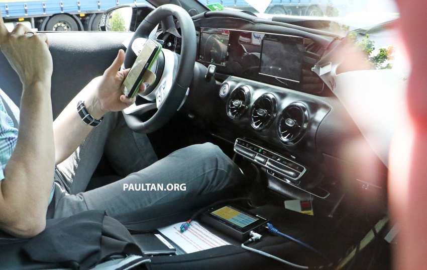 SPIED: 2018 Mercedes-Benz A-Class – interior shown Image #674626