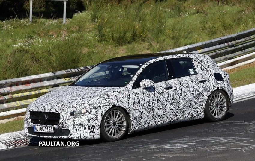 SPIED: 2018 Mercedes-Benz A-Class – interior shown Image #674621