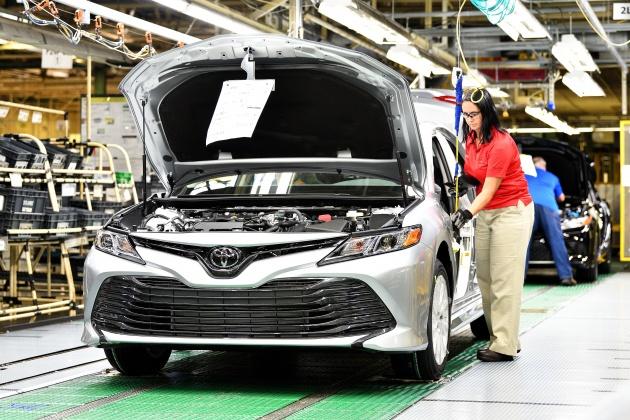Toyota Camry 2018 Mula Diproduksi Di Kentucky Usa