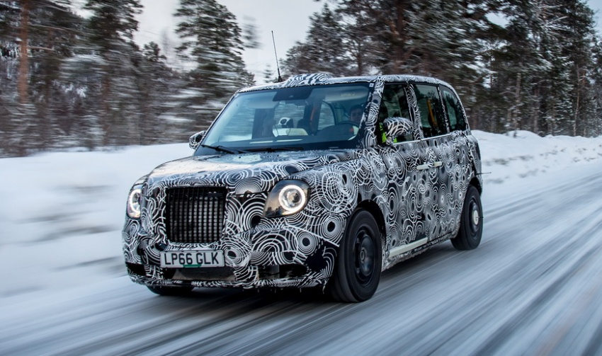 London Taxi Company TX5 EV to debut at Goodwood Image #677499