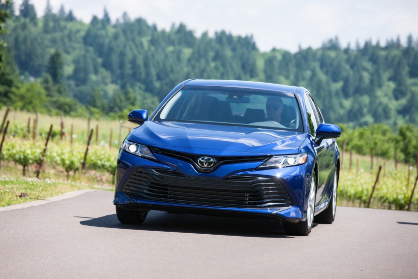 2018 Toyota Camry detailed ahead of US sales launch Image #675767