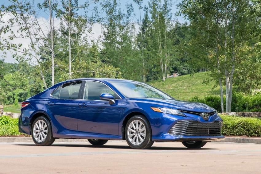 2018 Toyota Camry detailed ahead of US sales launch Image #675769