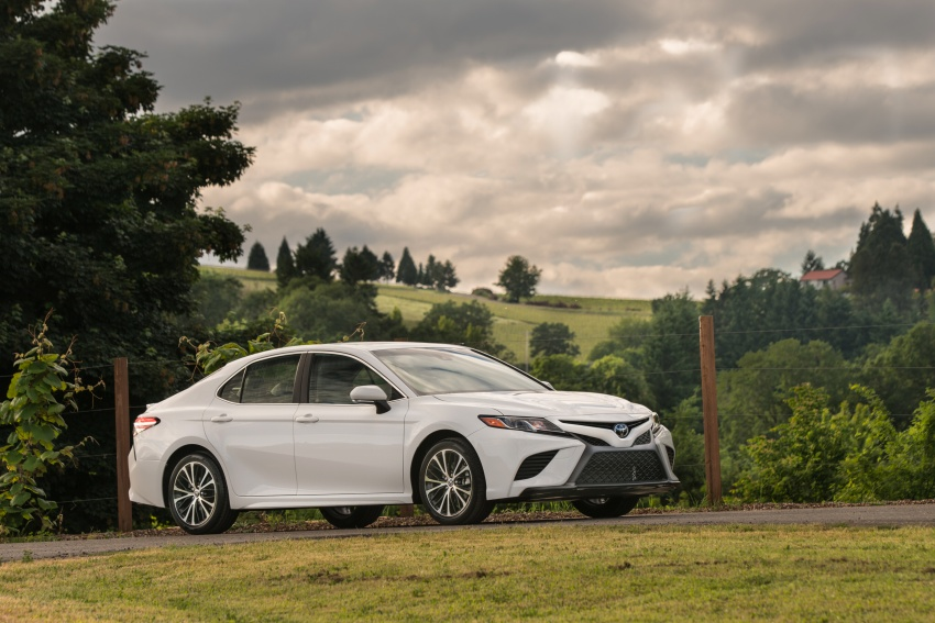 2018 Toyota Camry detailed ahead of US sales launch Image #675778