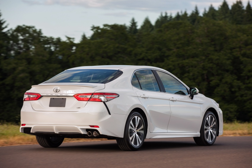 2018 Toyota Camry detailed ahead of US sales launch Image #675784