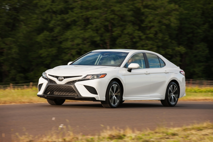 2018 Toyota Camry detailed ahead of US sales launch Image #675786