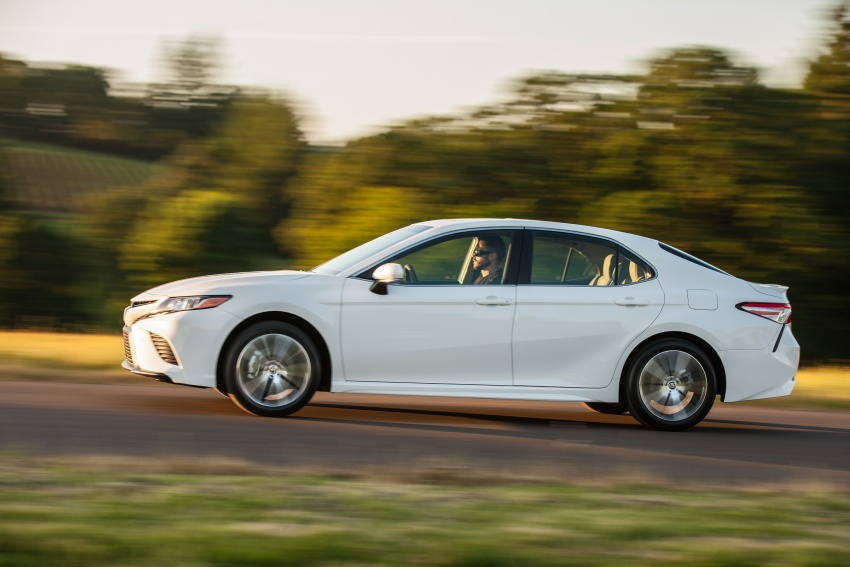 2018 Toyota Camry detailed ahead of US sales launch Image #675790