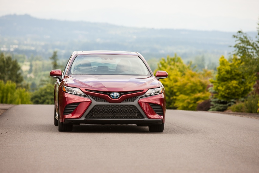 2018 Toyota Camry detailed ahead of US sales launch Image #675862