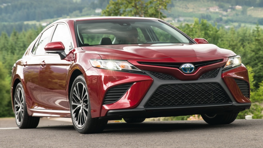 2018 Toyota Camry detailed ahead of US sales launch Image #675864
