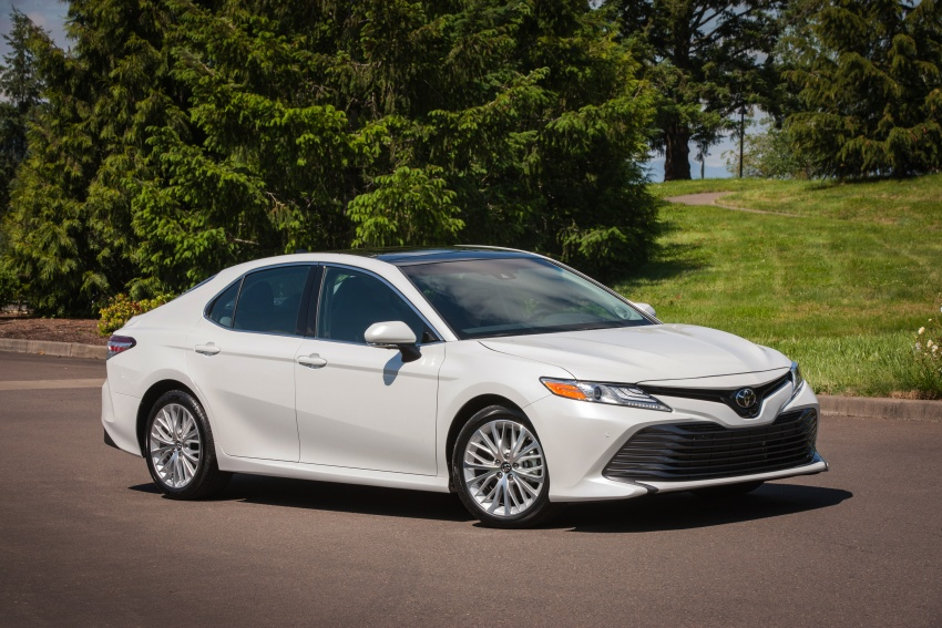 2018 Toyota Camry detailed ahead of US sales launch Image #675799