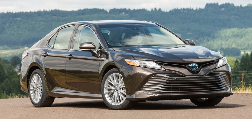 2018 Toyota Camry detailed ahead of US sales launch Image #675733