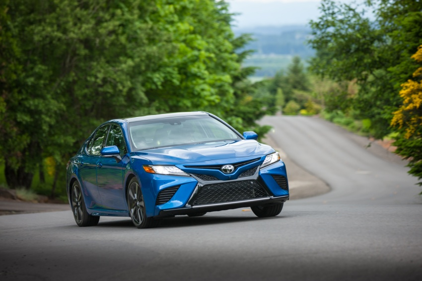 2018 Toyota Camry detailed ahead of US sales launch Image #675737