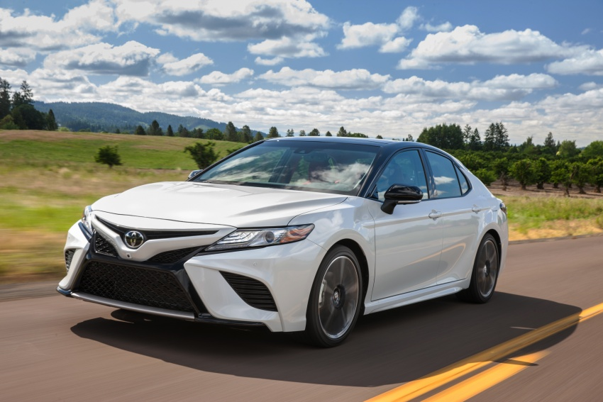 2018 Toyota Camry detailed ahead of US sales launch Image #675747