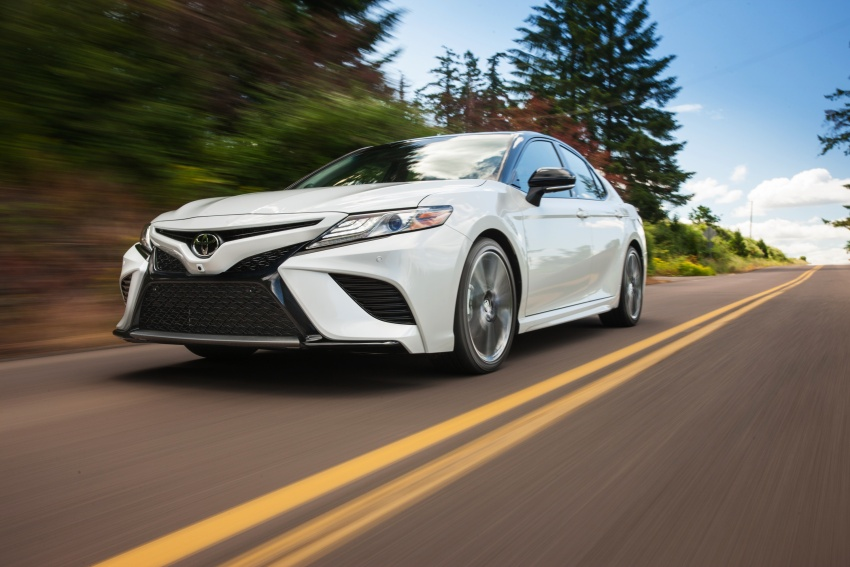 2018 Toyota Camry detailed ahead of US sales launch Image #675748
