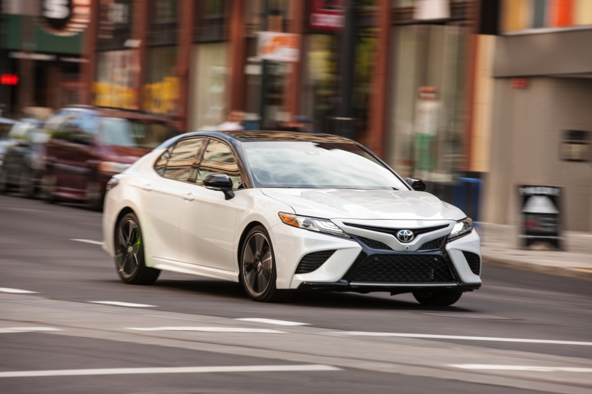 2018 Toyota Camry detailed ahead of US sales launch Image #675751