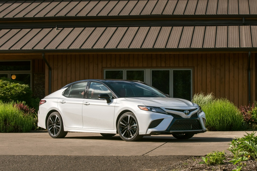 2018 Toyota Camry detailed ahead of US sales launch Image #675756