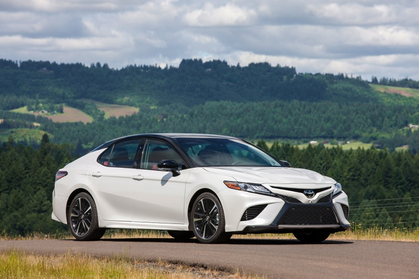 2018 Toyota Camry detailed ahead of US sales launch Image #675757