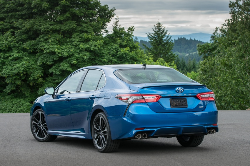 2018 Toyota Camry detailed ahead of US sales launch Image #675758