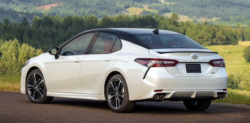 2018 Toyota Camry detailed ahead of US sales launch Image #675760