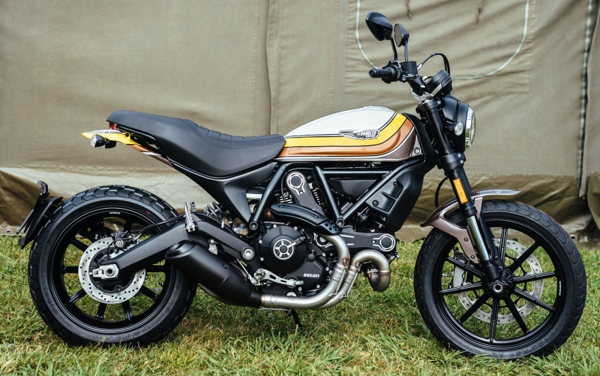 2017 Scrambler Ducati Mach 2.0 and Full Throttle unveiled at Wheels and Waves show in Biarritz Image #674184