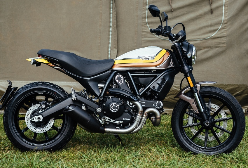2017 Scrambler Ducati Mach 2.0 and Full Throttle unveiled at Wheels and Waves show in Biarritz Image #674185