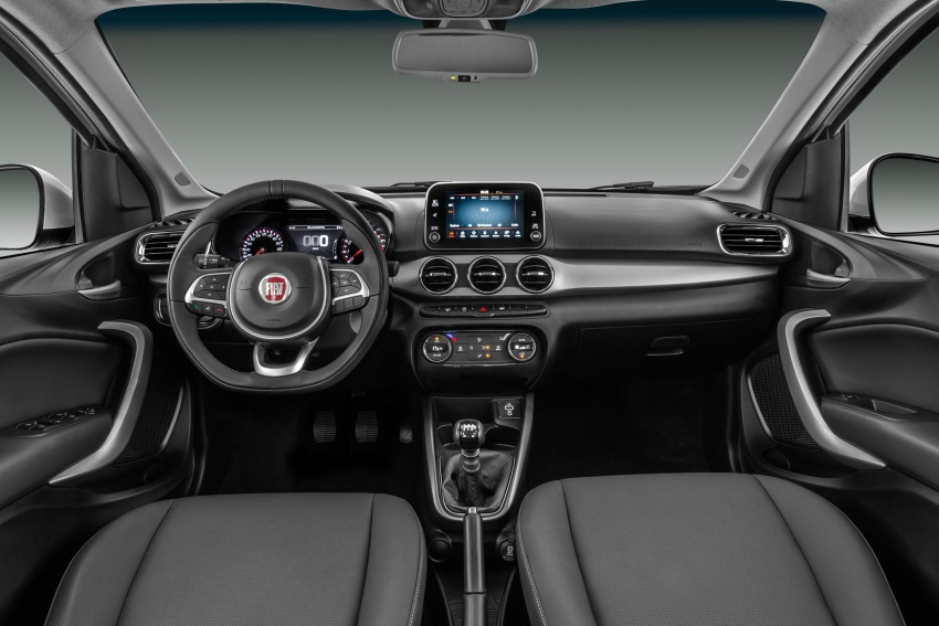 Fiat Argo launched in Brazil – eight variants offered Image #668730