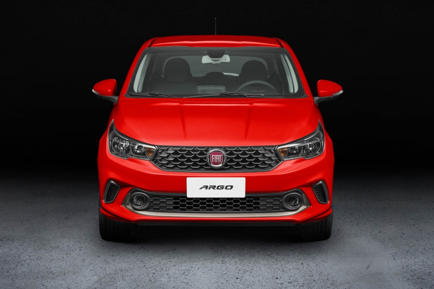 Fiat Argo launched in Brazil – eight variants offered Image #668727