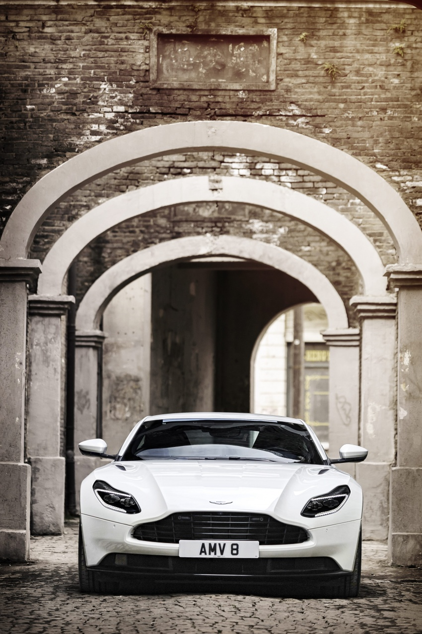 Aston Martin DB11 – now with Mercedes-AMG V8 Image #676919