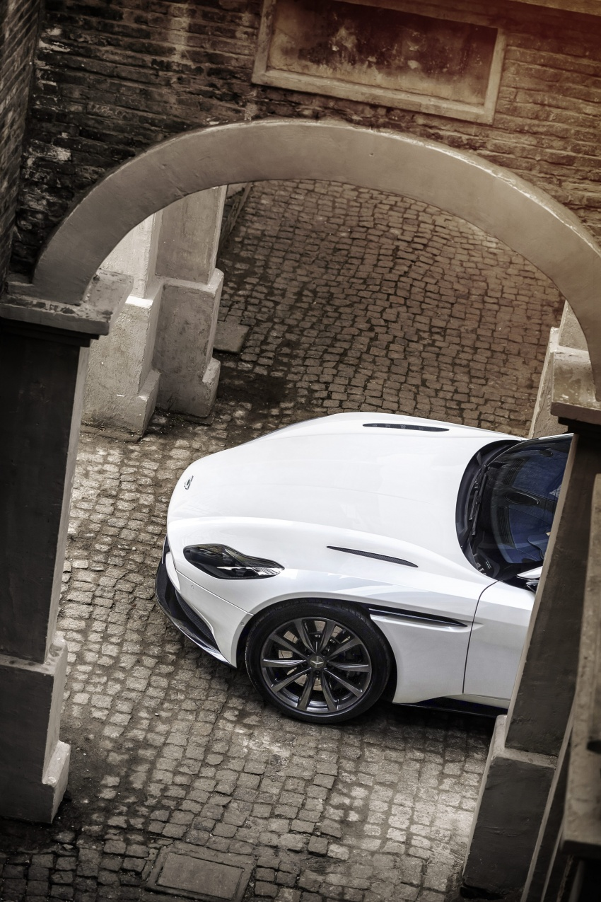 Aston Martin DB11 – now with Mercedes-AMG V8 Image #676920