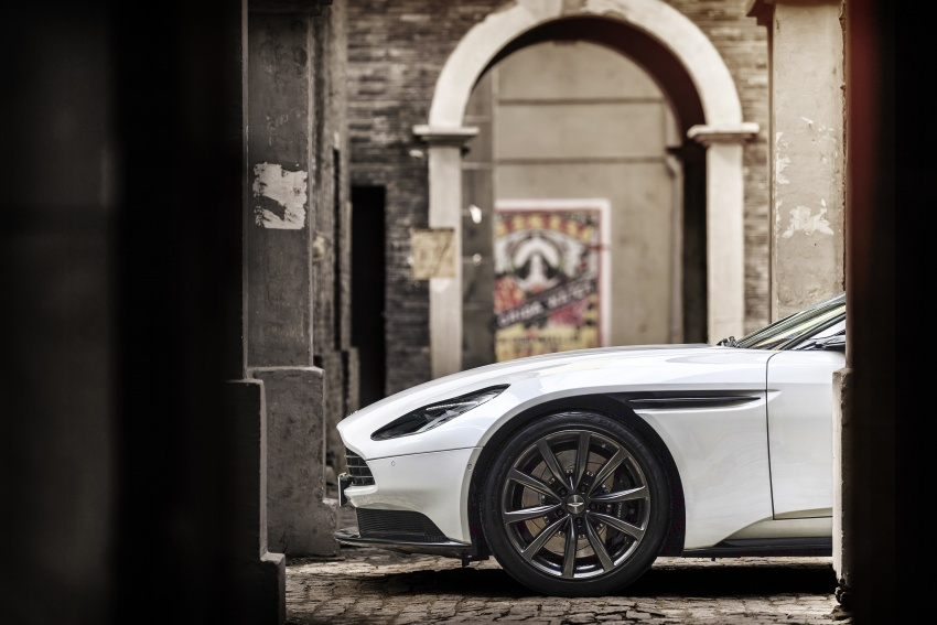Aston Martin DB11 – now with Mercedes-AMG V8 Image #676925