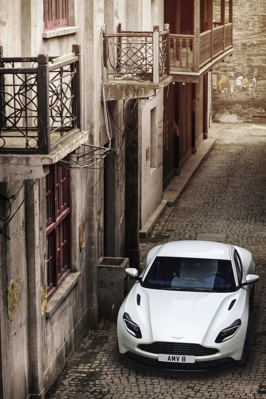 Aston Martin DB11 – now with Mercedes-AMG V8 Image #676926