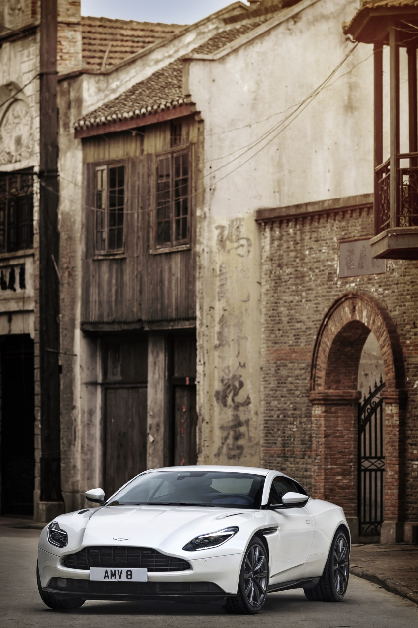 Aston Martin DB11 – now with Mercedes-AMG V8 Image #676916