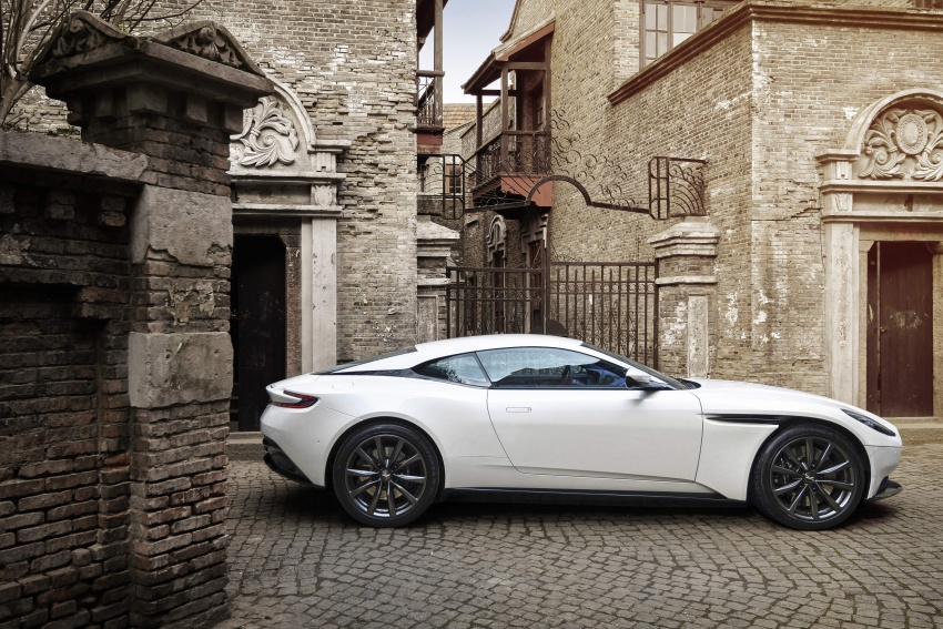 Aston Martin DB11 – now with Mercedes-AMG V8 Image #676917