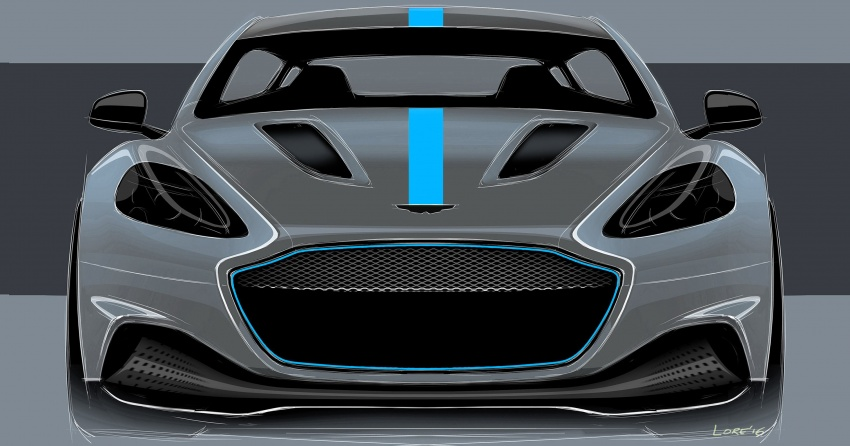 Aston Martin RapidE – brand's first all-electric model confirmed, limited production to begin in 2019 Image #677188