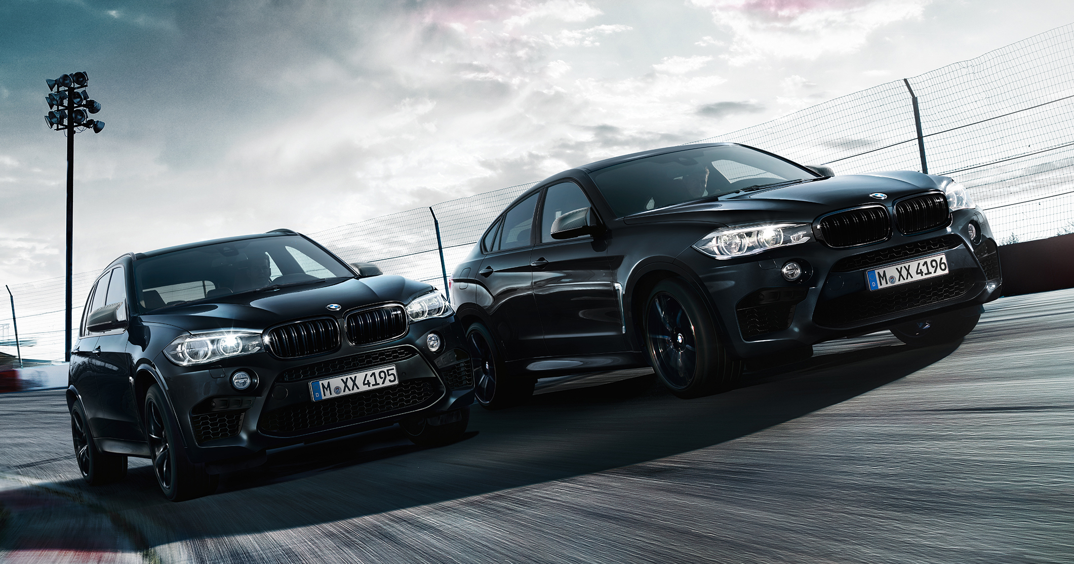 bmw x5 m and x6 m 39 black fire 39 editions unveiled. Black Bedroom Furniture Sets. Home Design Ideas