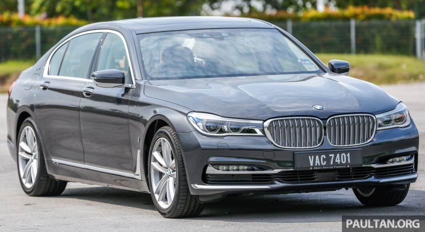 FIRST DRIVE: BMW 740Le xDrive Plug-In Hybrid Image #673874