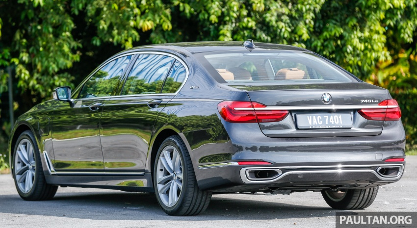 FIRST DRIVE: BMW 740Le xDrive Plug-In Hybrid Image #673884