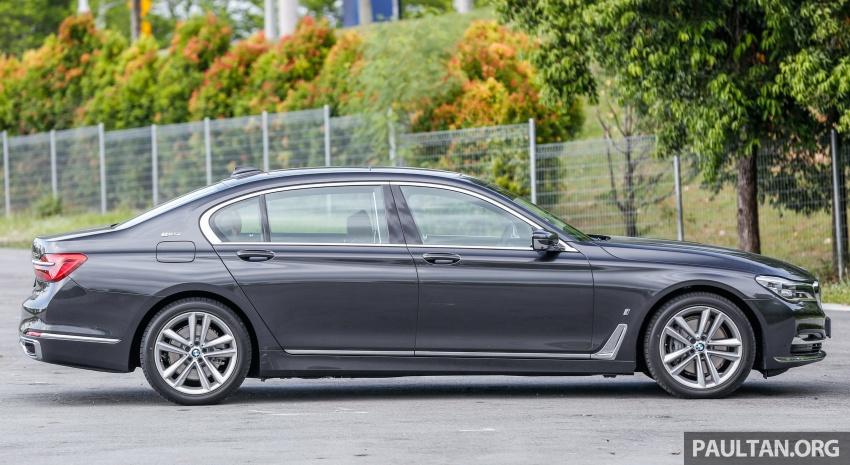 FIRST DRIVE: BMW 740Le xDrive Plug-In Hybrid Image #673886
