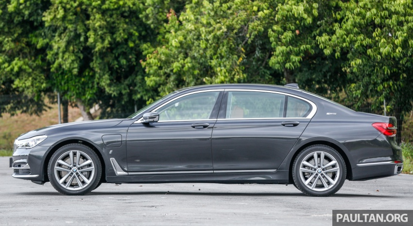 FIRST DRIVE: BMW 740Le xDrive Plug-In Hybrid Image #673889