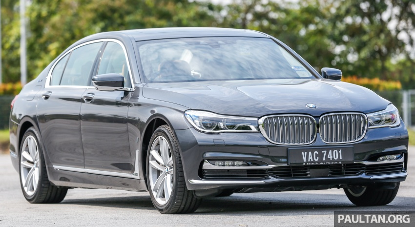 FIRST DRIVE: BMW 740Le xDrive Plug-In Hybrid Image #673875