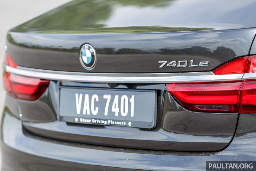 FIRST DRIVE: BMW 740Le xDrive Plug-In Hybrid Image #673906