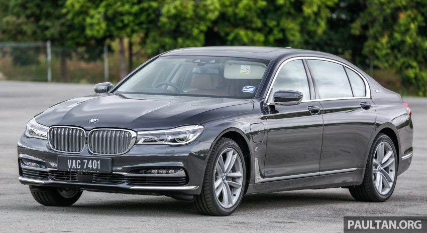 FIRST DRIVE: BMW 740Le xDrive Plug-In Hybrid Image #673878