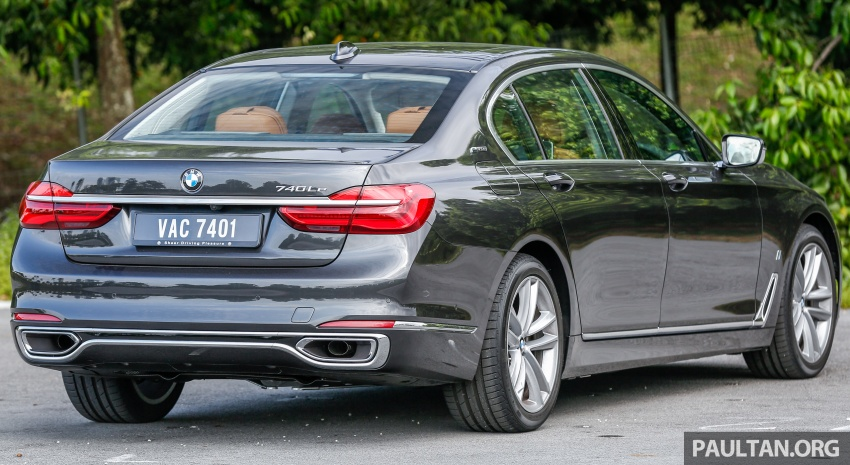 FIRST DRIVE: BMW 740Le xDrive Plug-In Hybrid Image #673880