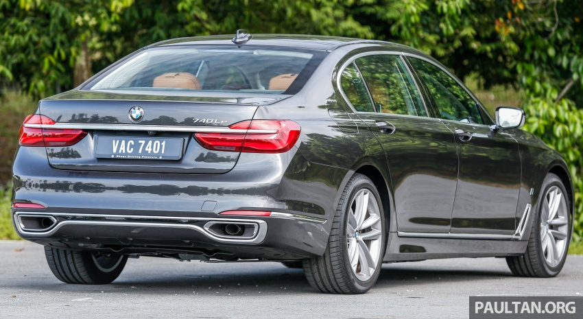 FIRST DRIVE: BMW 740Le xDrive Plug-In Hybrid Image #673881
