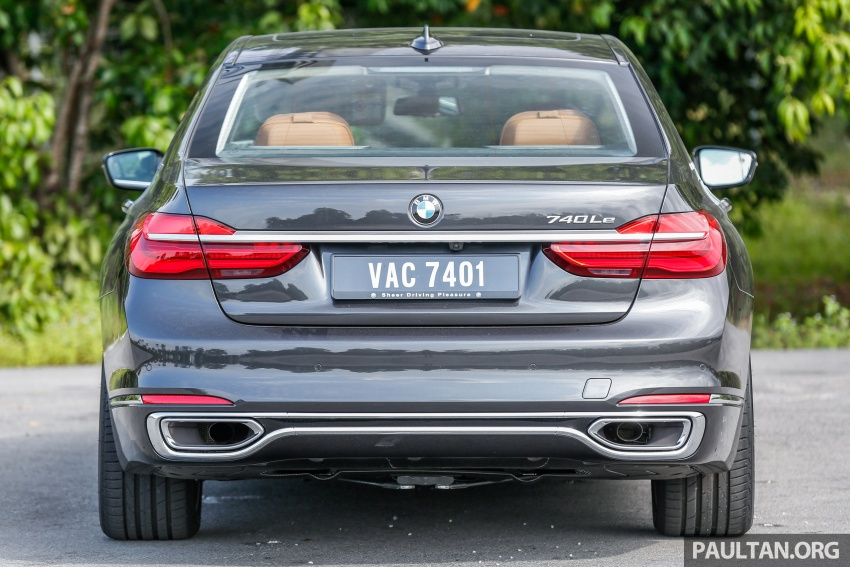 FIRST DRIVE: BMW 740Le xDrive Plug-In Hybrid Image #673882