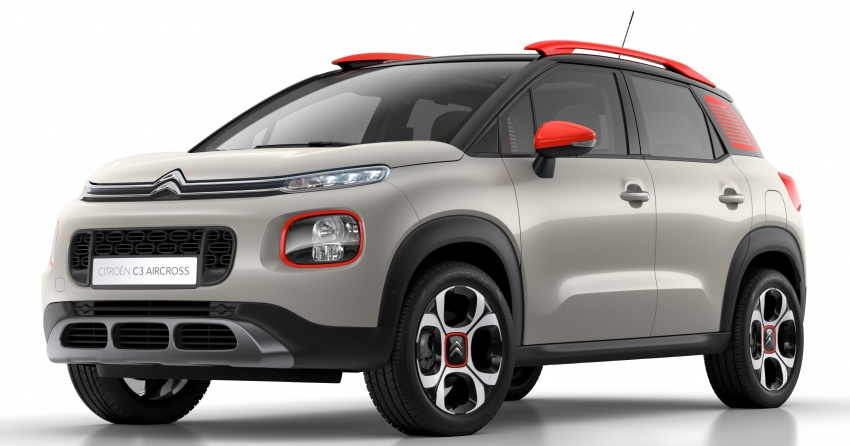 Citroen C3 Aircross revealed – replaces C3 Picasso Image #671999