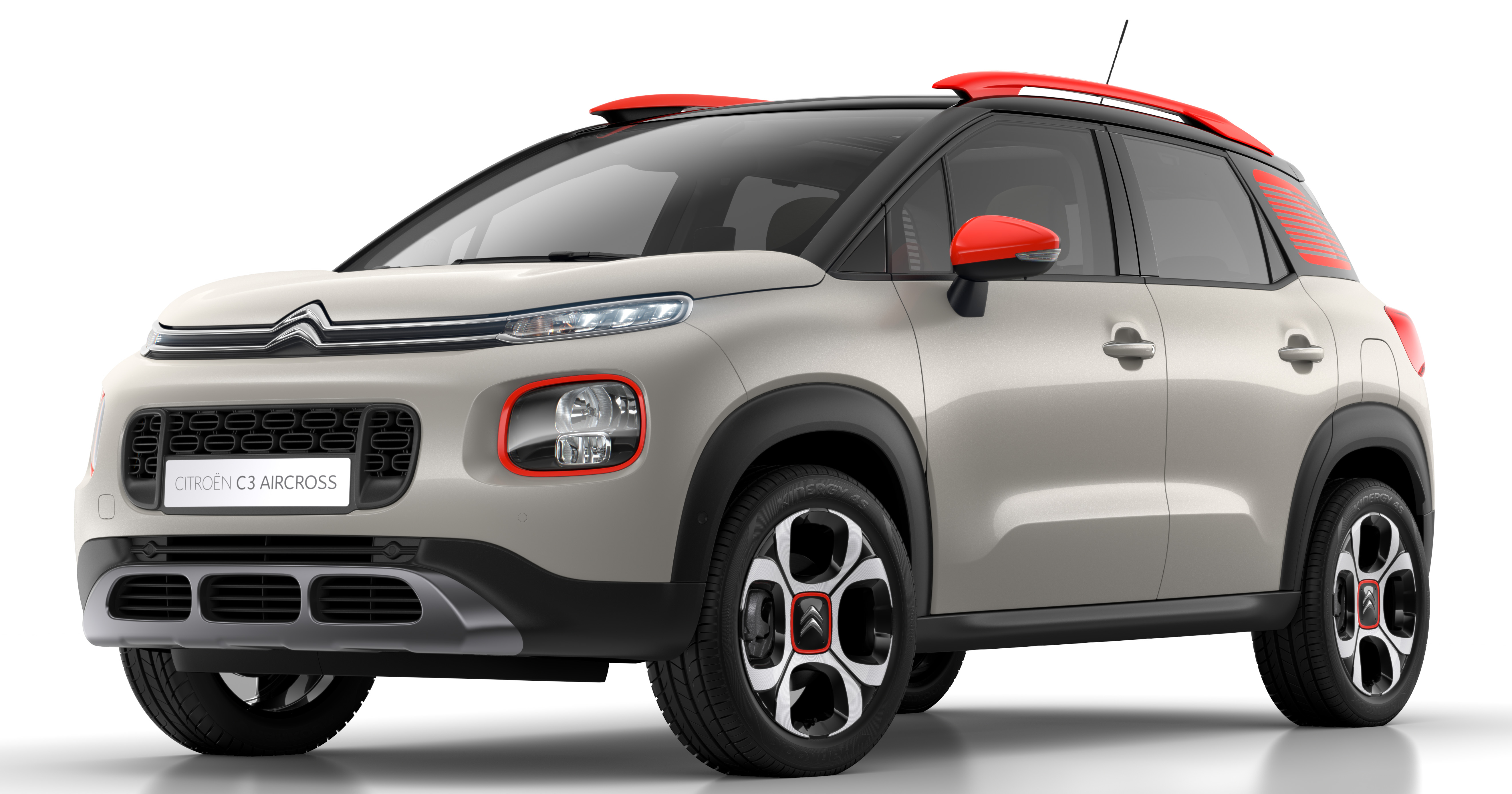 citroen c3 aircross revealed replaces c3 picasso. Black Bedroom Furniture Sets. Home Design Ideas