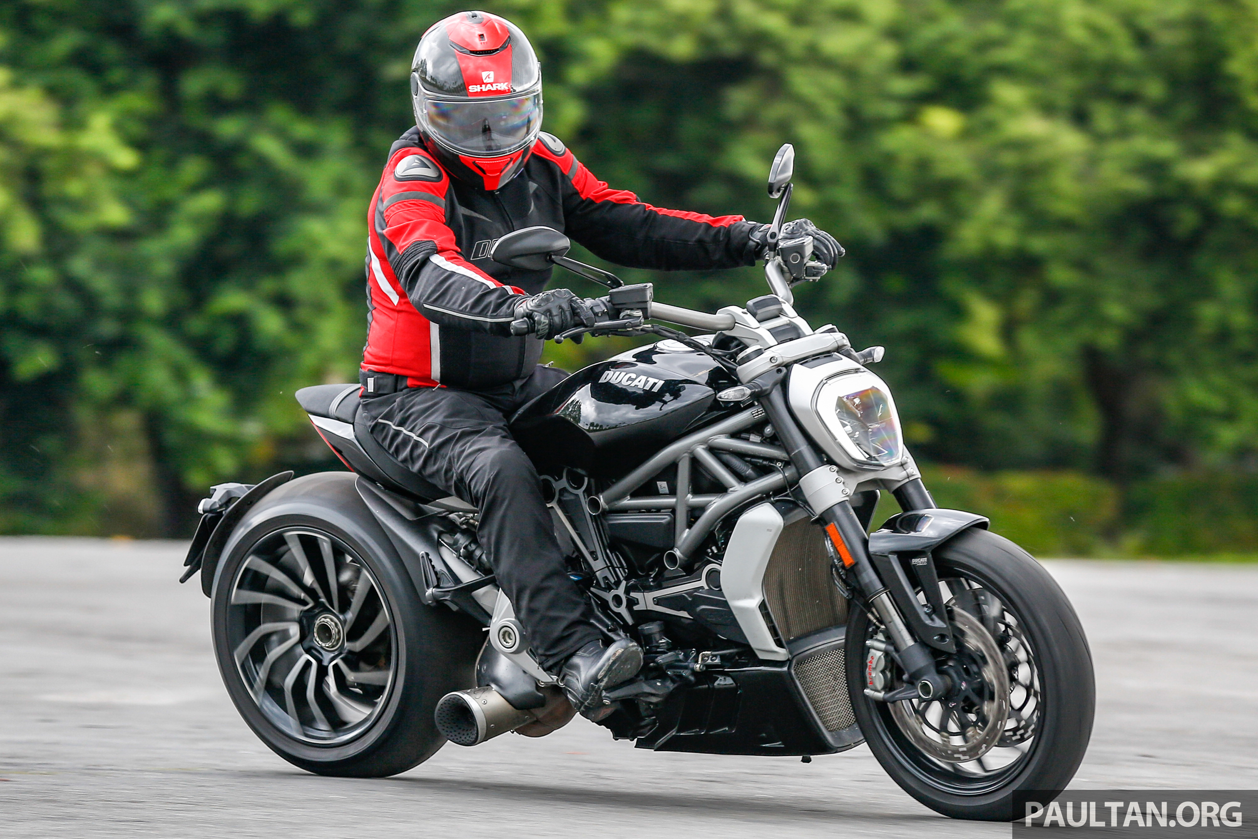Ducati Xdiavel S Custom Exaust