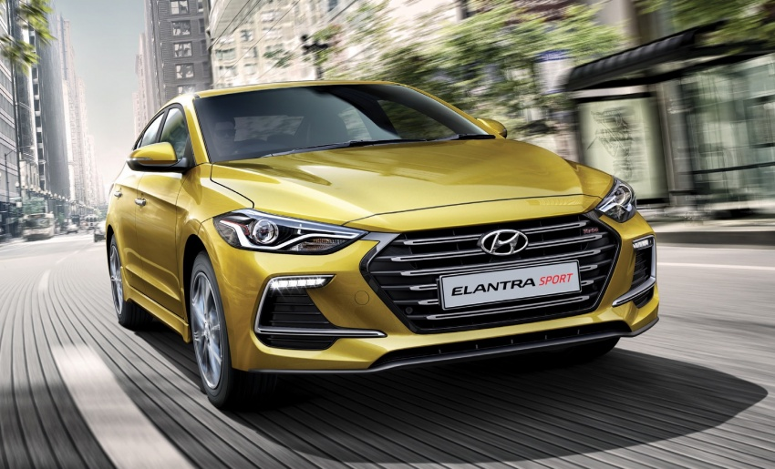 2017 Hyundai Elantra open for booking in Malaysia – 2.0 MPI from RM120k, 1.6 Turbo Sport for RM135k Image #667713